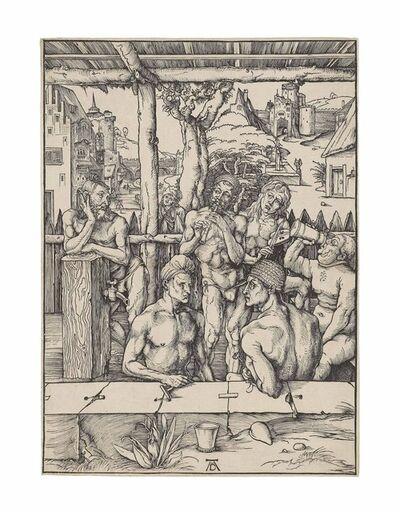 Albrecht Dürer, 'The Bathhouse (B. 128; M., Holl. 266; S.M.S. 107)', ca. 1496-1497