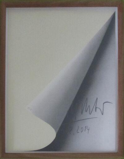Gerhard Richter, 'Blattecke (19.02.2014)', 2014