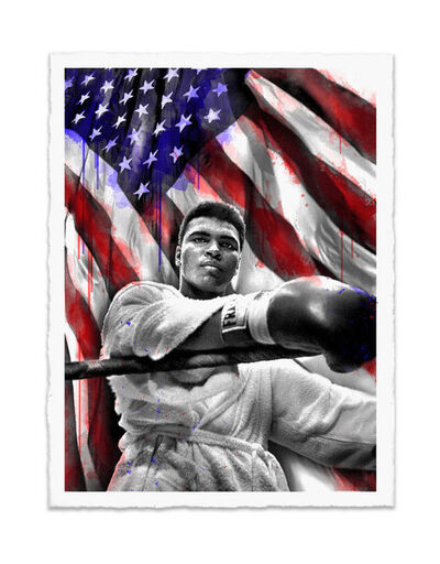 Mr. Brainwash, 'Ali American Hero ', 2019
