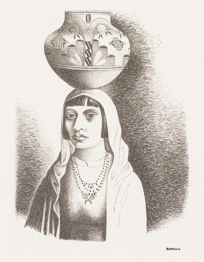 Emil Bisttram, 'Indian Girl', ca. 1935