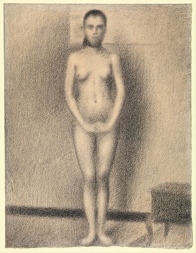 "Georges Seurat, 'Study for ""Poseuses""', 1886-87"