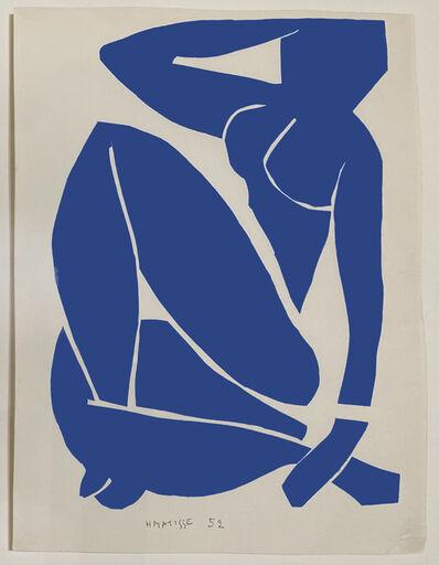 Henri Matisse, 'Nue Bleu III (Seated Blue Nude)', 1952