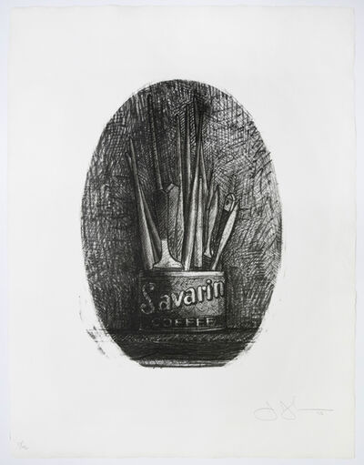 Jasper Johns, 'Savarin (No. 4 - Oval)', 1978
