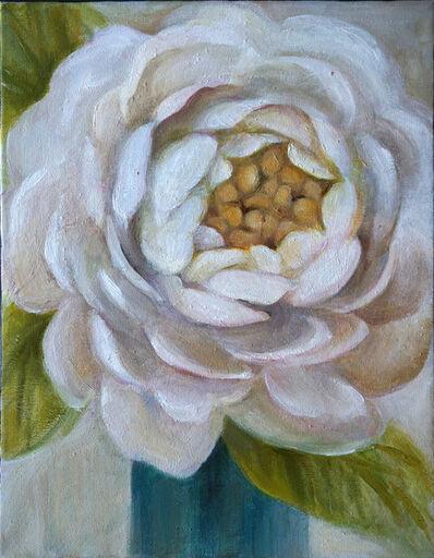 Lucy Y F Chen, 'White Dahlia'