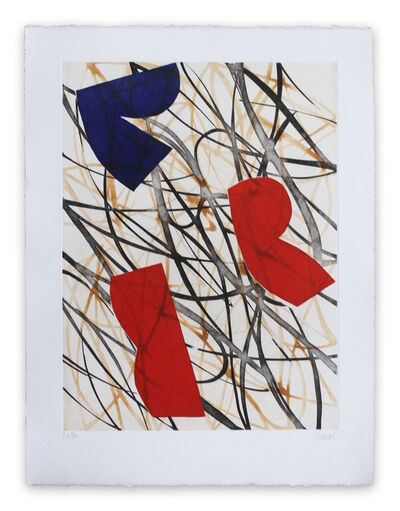 Alain Clément, '13F1G-2013 (Abstract print)', 2013