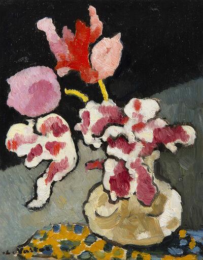 Louis Valtat, 'Vase de fleurs sur une table', Unknown