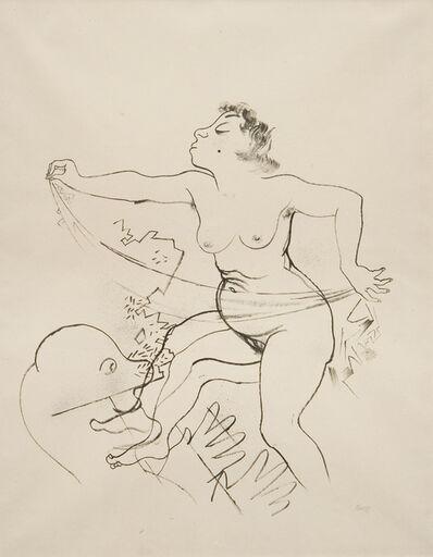 George Grosz, 'Lady Hamilton', ca. 1930