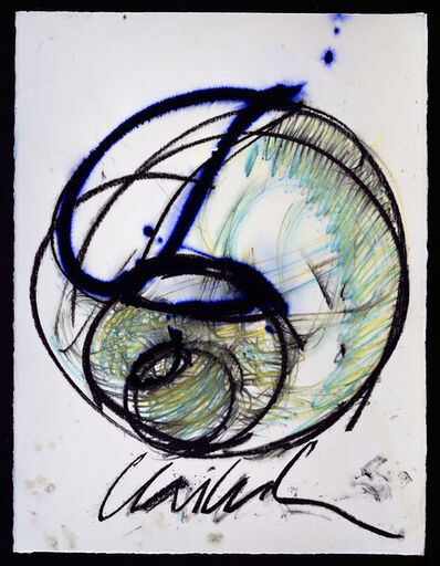 Dale Chihuly, 'Basket Drawing', 2001