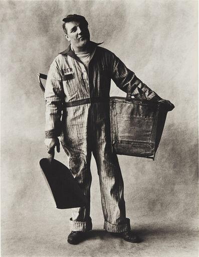 Irving Penn, 'Coal Man, New York', 1951