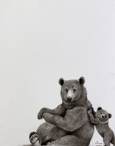 Adonna Khare, 'Bear and Cub', 2021