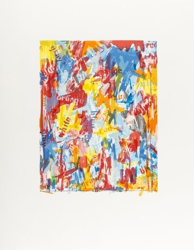 Jasper Johns, 'False Start I', 1975