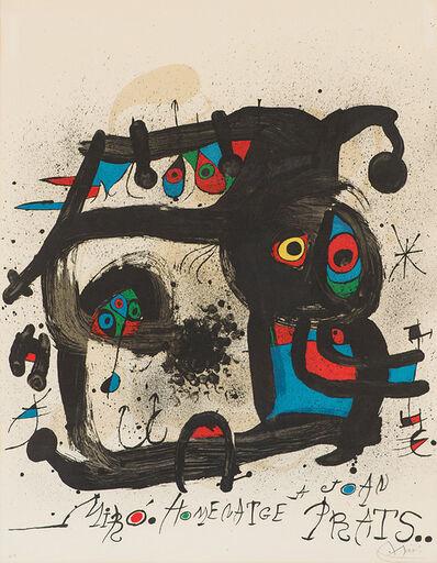 Joan Miró, 'Homenatge a Joan Prats (M. 852)', 1972