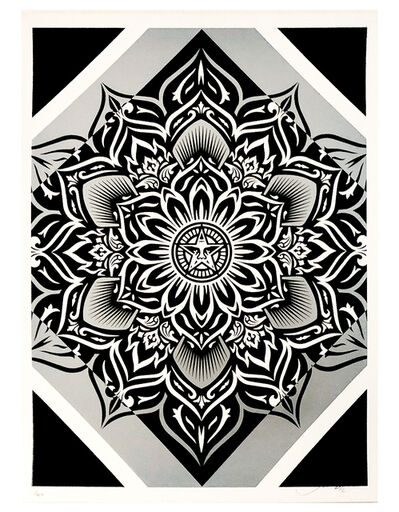 Shepard Fairey, 'LOTUS DIAMOND (Silver)', 2012