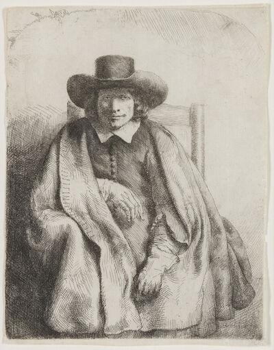 Rembrandt van Rijn, 'CLEMENT DE JONGHE', 1651
