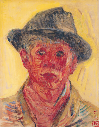 Kuo Po-Chuan 郭柏川, 'Self-Portrait', 1944