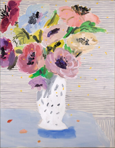Willy Ramos, 'Anemonas con Fondo de Grafito', 2009