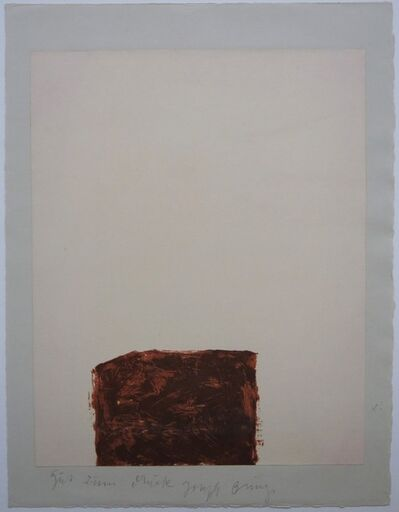 Joseph Beuys, 'Suite Schwurhand - Wandernde Kiste 4', 1980