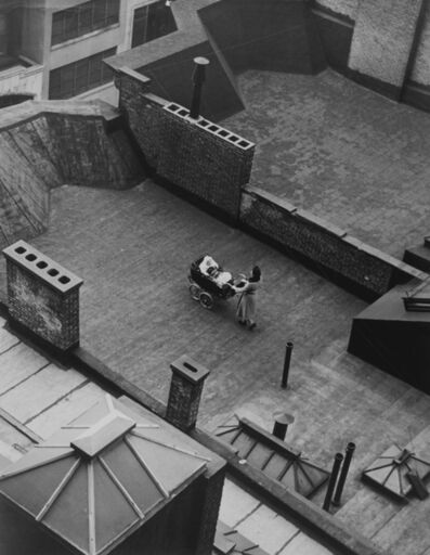 Martin Munkacsi, 'Roof Baby, New York', 1940