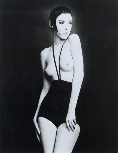 William Claxton, 'Peggy Moffit in Rudi Gernreich, Topless Swimsuit', 1964