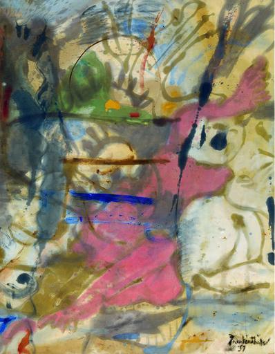 Helen Frankenthaler, 'Europa', 1957