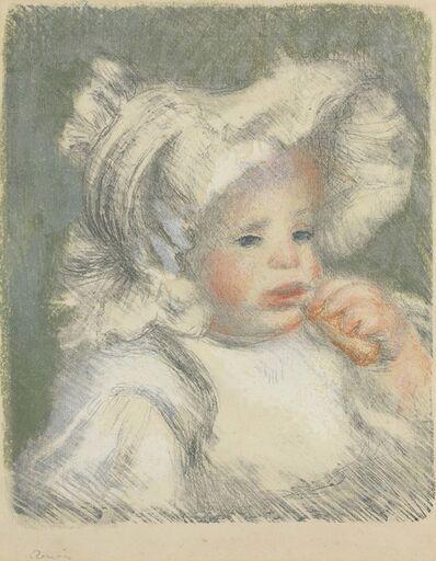 Pierre-Auguste Renoir, 'L'Enfante au Biscuit', 1899