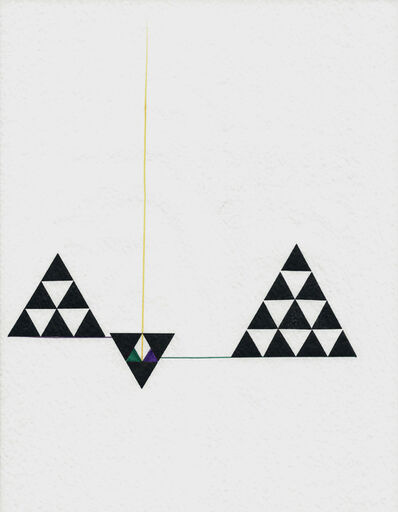 Mathias Goeritz, 'Tarjeta de felicitación', 1970