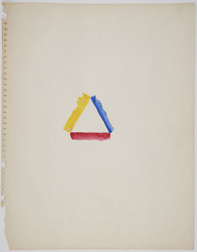Richard Tuttle, 'basis33', early 1970s