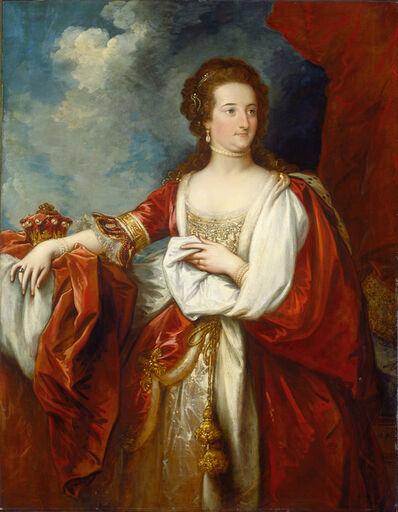 Benjamin West, 'Elizabeth, Countess of Effingham', ca. 1797