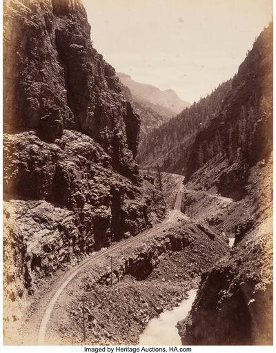 William Henry Jackson, 'Cimmaron Canyon', circa 1880