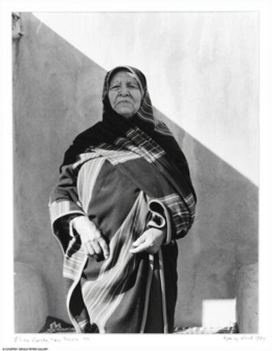 Nancy Wood, 'Eliseo Concha, Taos Pueblo, 1/7', 1984
