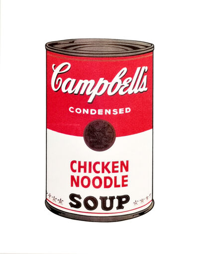 Andy Warhol, 'Chicken Noodle Soup', 1970
