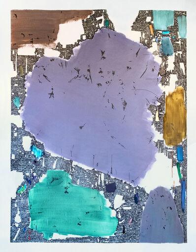 Pascal Berthoud, 'Inciser le temps III', 2019
