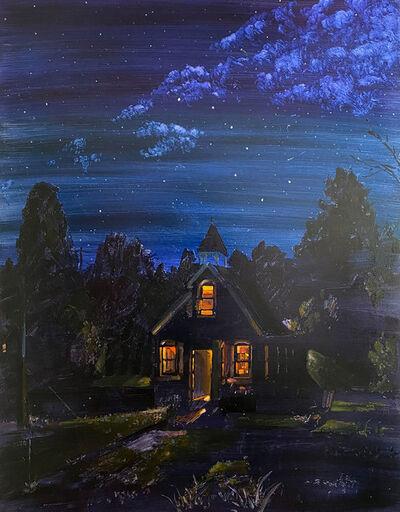 Keiran Brennan Hinton, 'Nighttime Schoolhouse', 2020