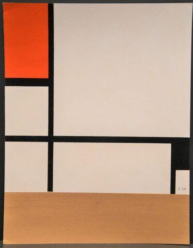 Piet Mondrian, 'Composition', 1957