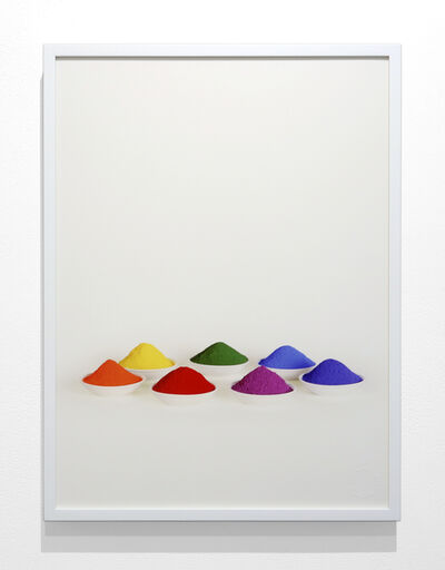 Sarah Charlesworth, 'Seven Colors from the series Simple Text', 2005
