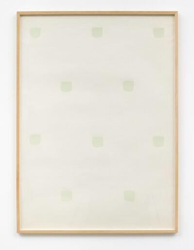 Niele Toroni, 'Miroir d'eau', 1973