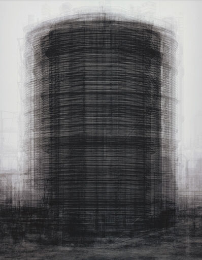 Idris Khan, 'every…Bernd and Hilla Becher Prison Type Gasholder', 2004