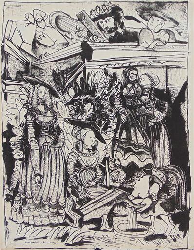 Pablo Picasso, 'David and Bathsheba (After Lucas Cranach) II', 1969