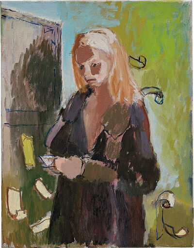 Neal Tait, 'Woman reading her Visa statement', 2006