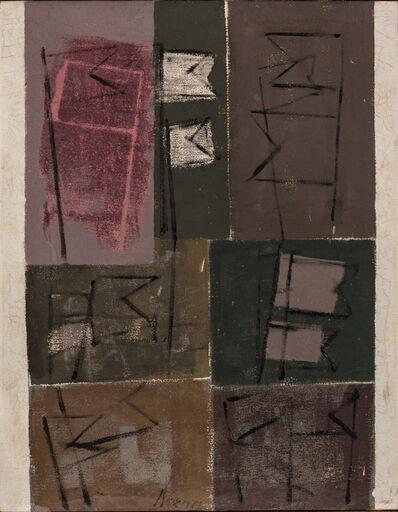 Mario Bueno, 'Esboços', 1972