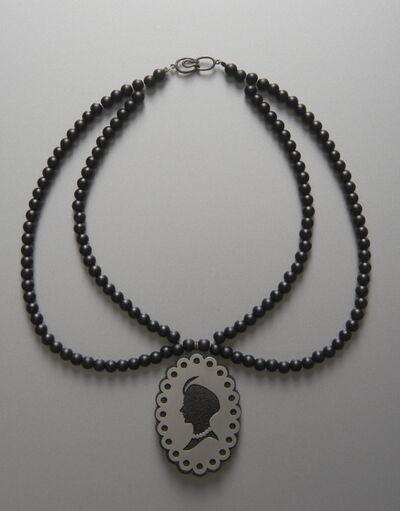 Leyla Taranto, 'Silhouettes - Collar necklace', 2014