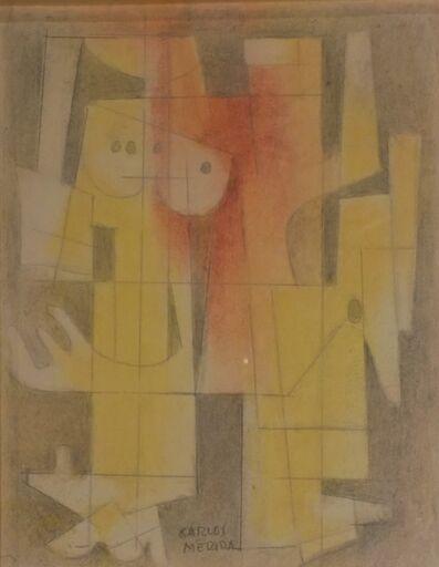 Carlos Merida, 'Study for El Creador y El Formador', 1968