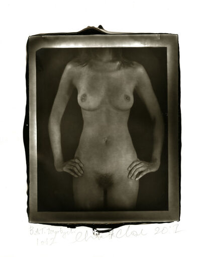 Chuck Close, 'Untitled Torso Diptych', 2012