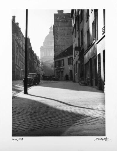 Dorothy Bohm, 'Rue Valette Vers Le Pantheon', 1953
