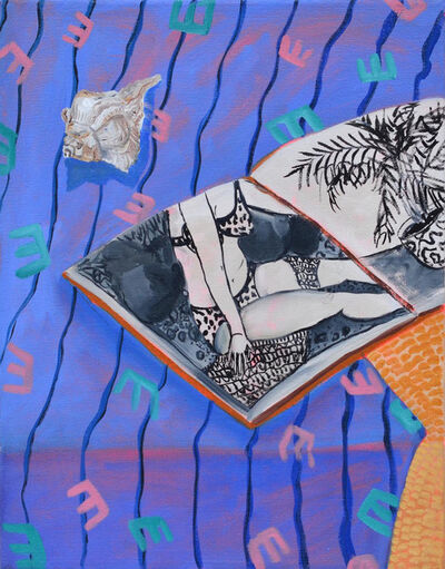 Anna Valdez, 'Sketchbook with Seashell '