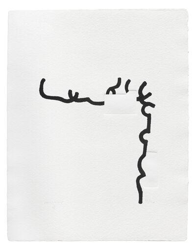 Eduardo Chillida, 'Hommage à Johann Sebastian Bach X', 1997