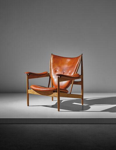 Finn Juhl, 'Chieftain armchair, model no. FJ 49 A', designed 1949-executed ca. 1960