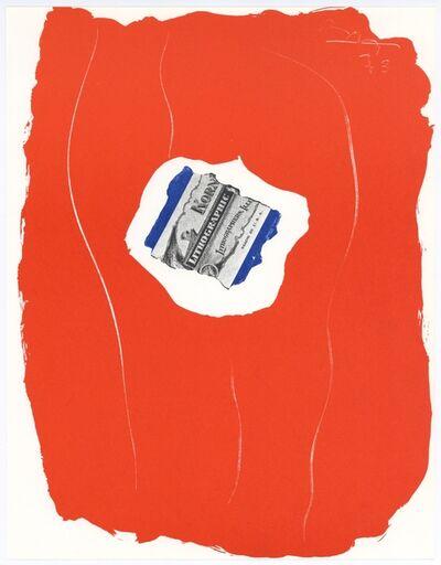 Robert Motherwell, 'Tricolour', 1973