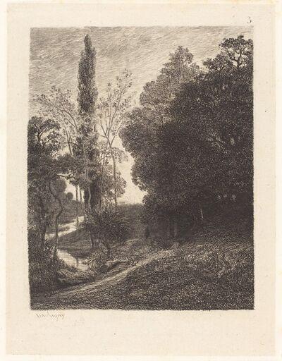 Charles François Daubigny, 'The Banks of the Cousin (Les Bords du Cousin)', 1850