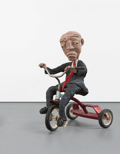 Will Ryman, 'Man on Tricycle', 2005